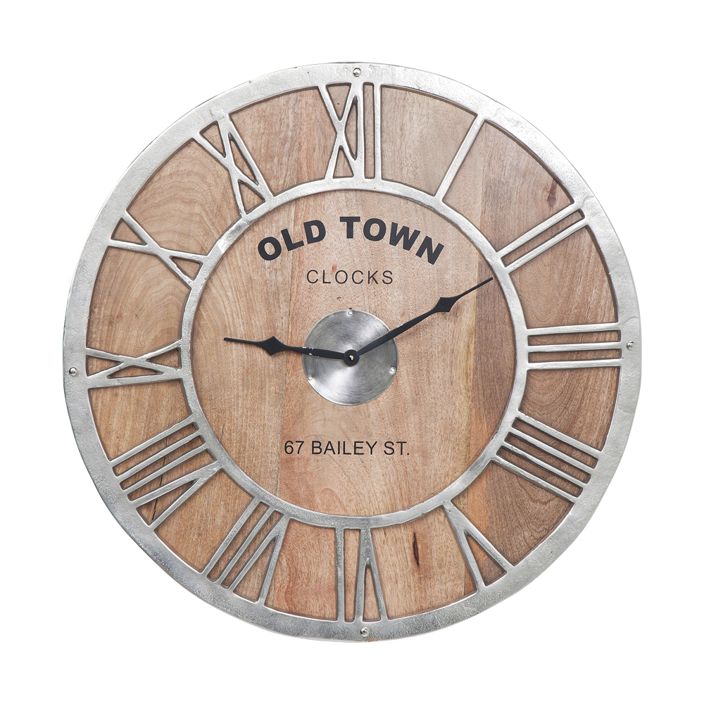 accessories 時計 wall clock old town wood ドイツのデザイン