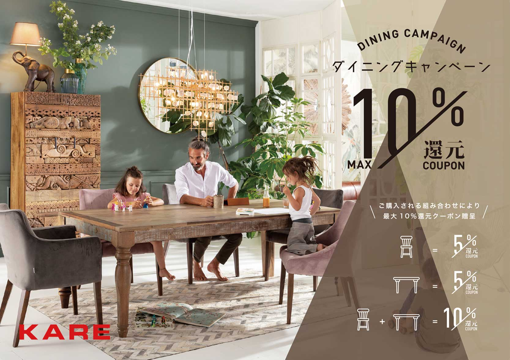 DINING CAMPAIGN