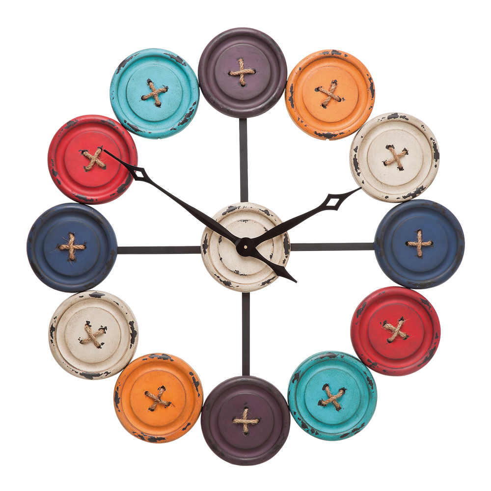 Wall Clock Buttons