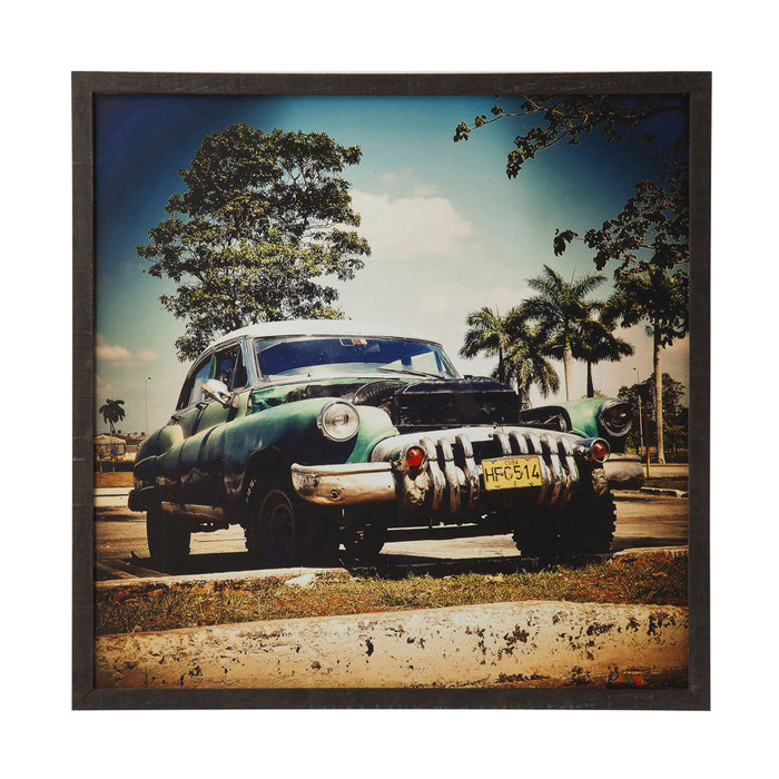 【在庫切れ】Picture Frame Cuba Rallye 76x76cm
