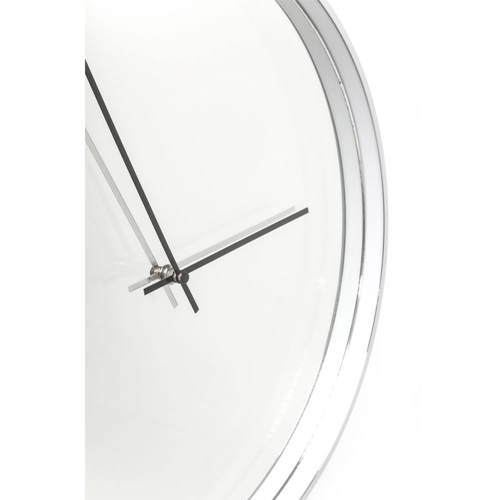 【廃番//】Wall Clock Timeless Mirror Ø40cm