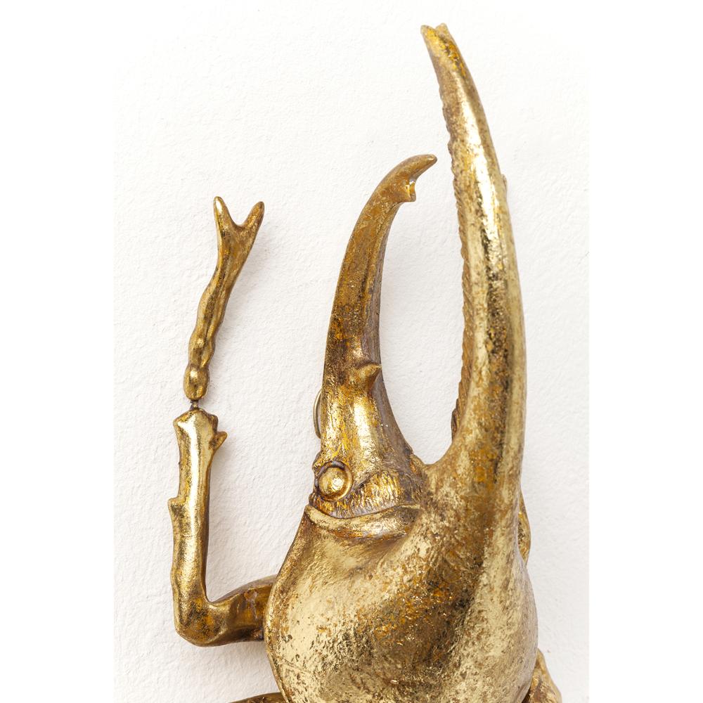 ヘラクレスビートルゴールド ウォールデコレーヨン