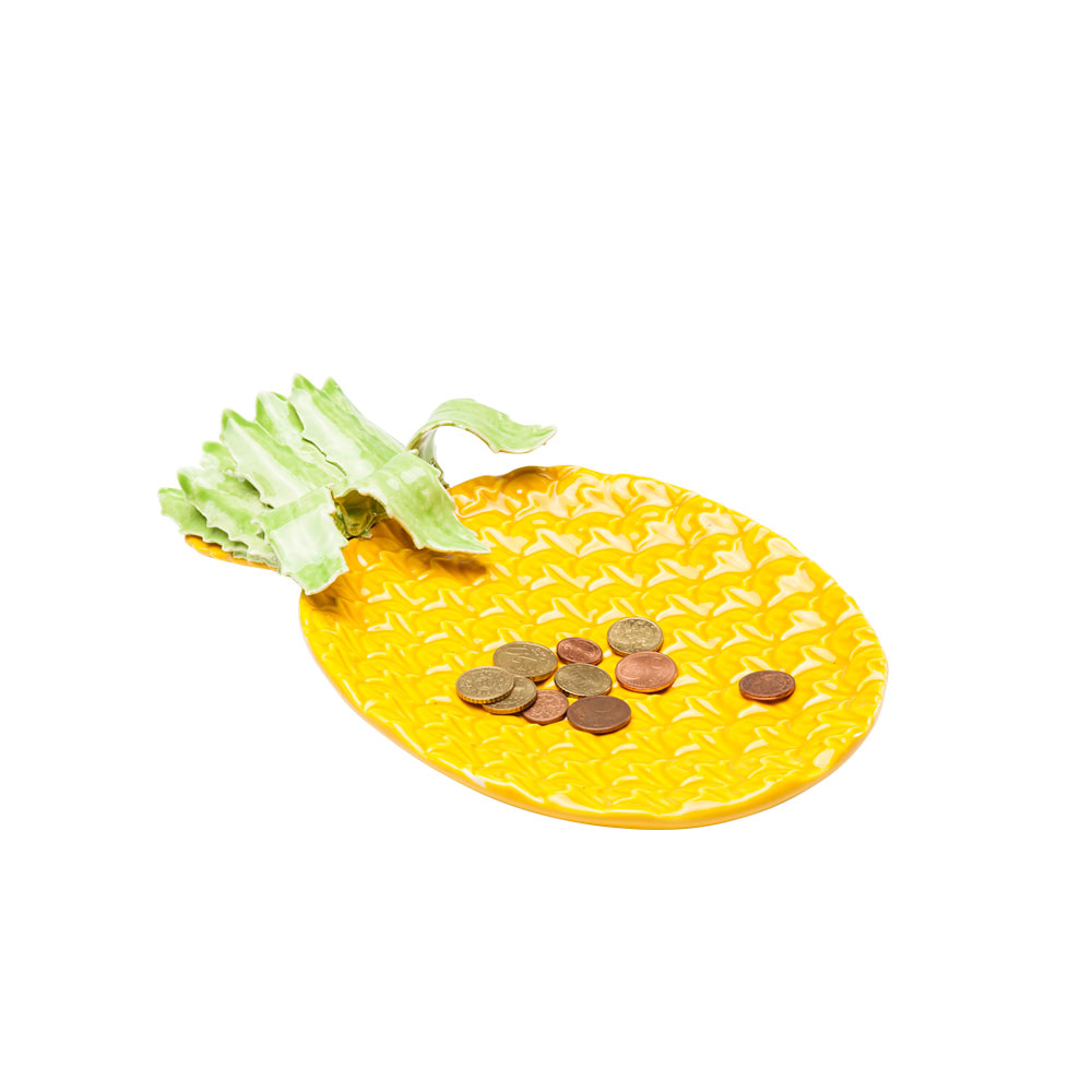 【在庫切れ】Deco Platter Pineapple