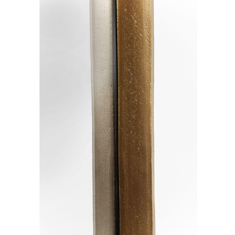 Mirror Clip Brass 177x32cm