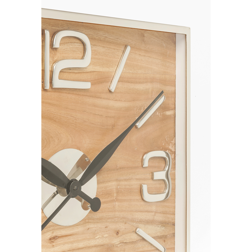 【在庫切れ】Wall Clock Lodge 50x50cm