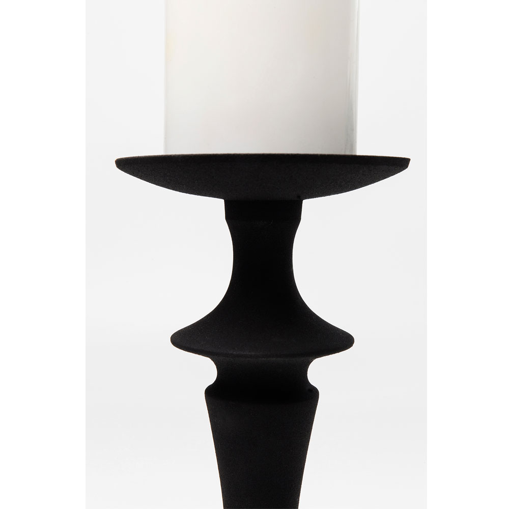 Candle Holder Downtown Black 35cm