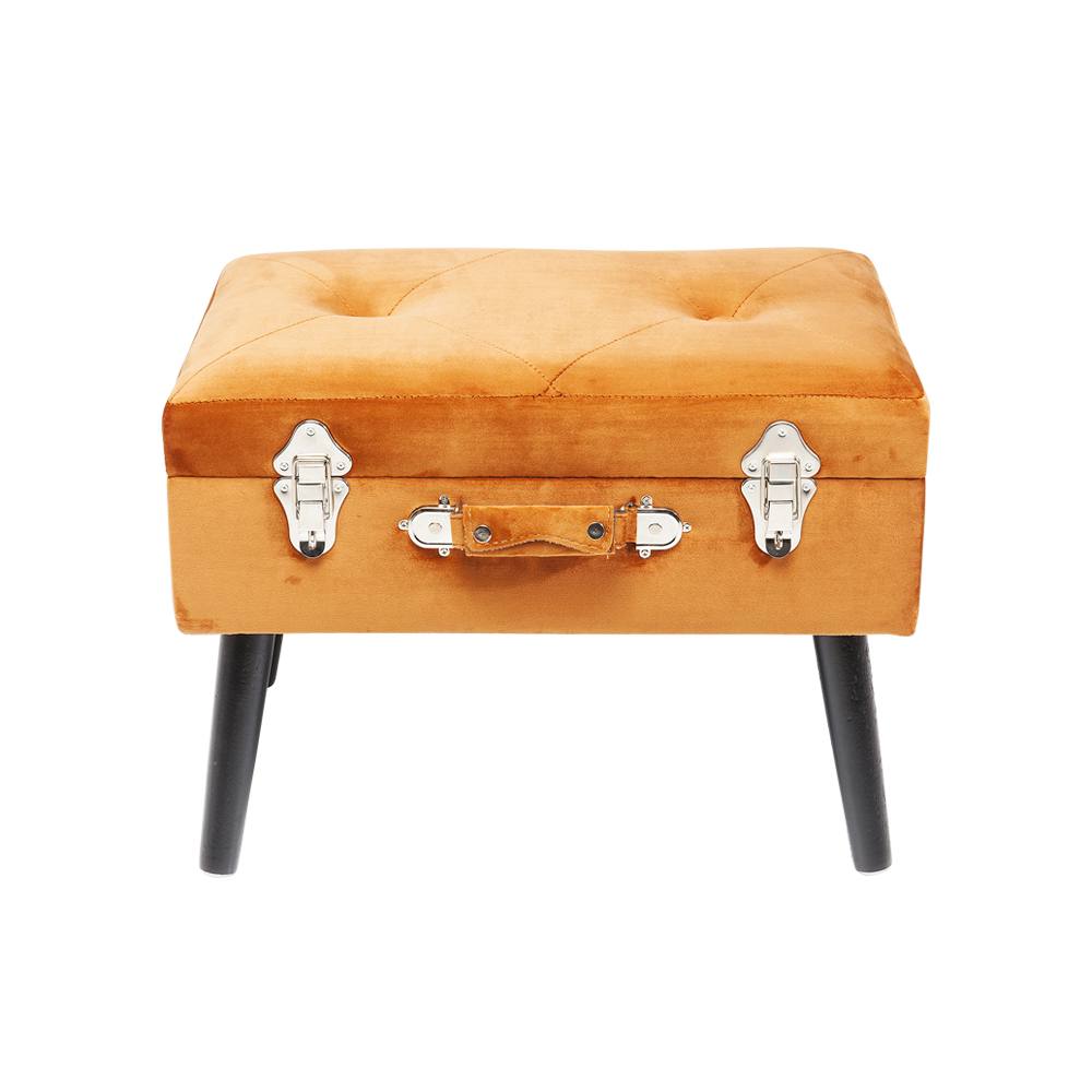 Stool Suitcase Orange