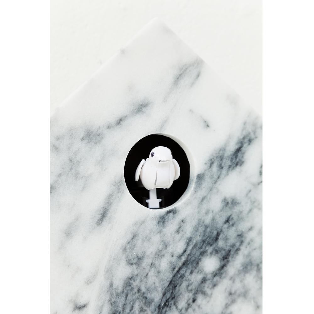 【廃番】Wall Clock Cuckoo Marble