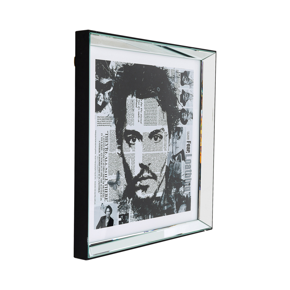 Picture Frame Mirror Johnny 60x60cm