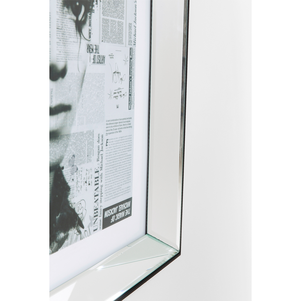 Picture Frame Mirror Michael 60x60cm