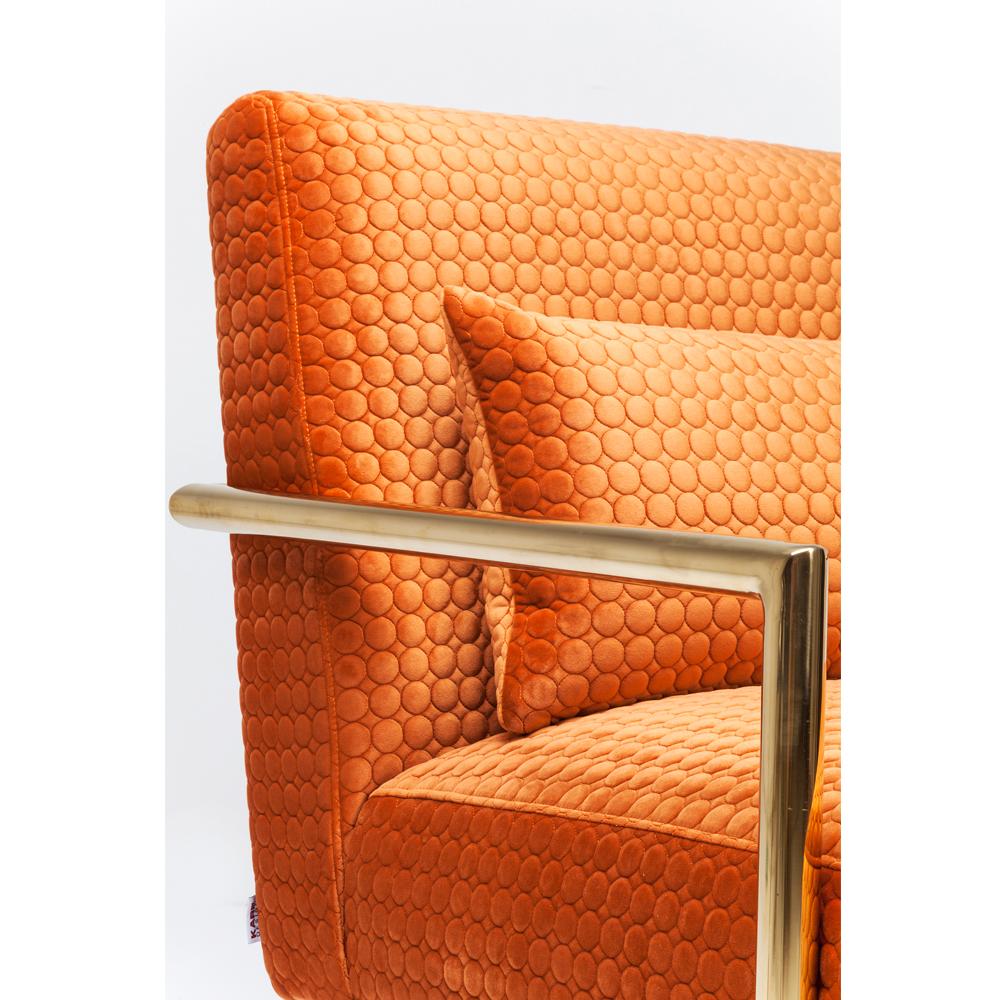 Armchair Living Vegas Orange