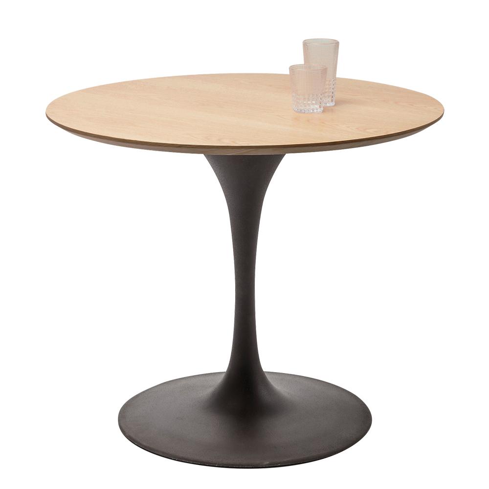 Table Top Invitation Round Oak O90cm