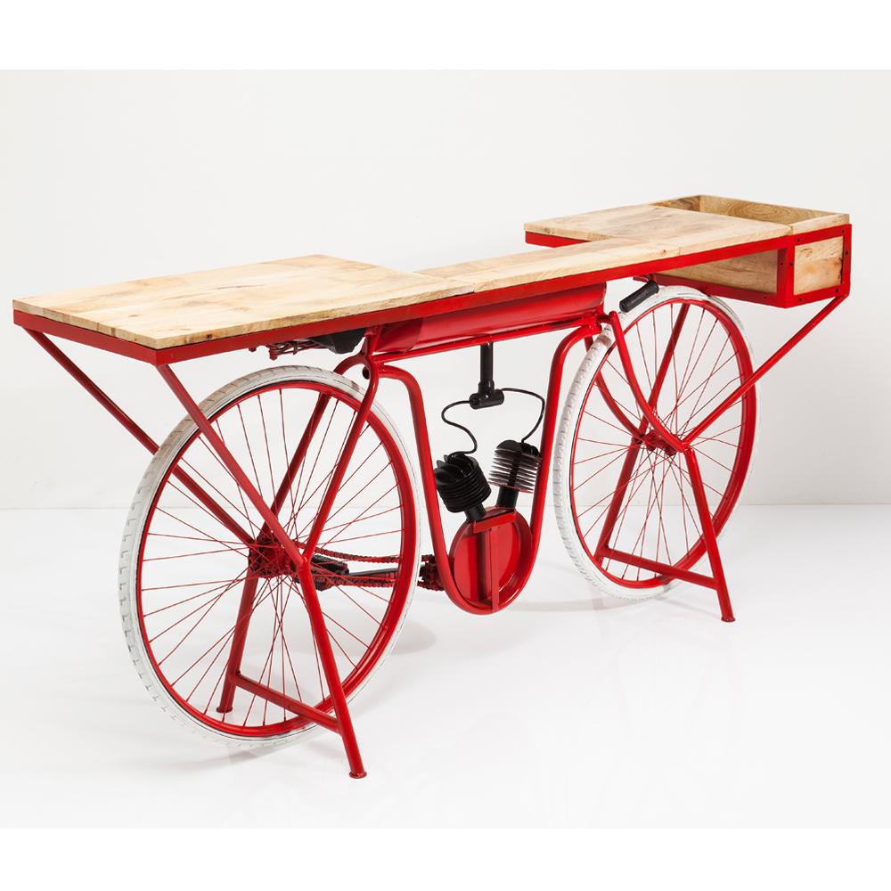 Console Bike Red