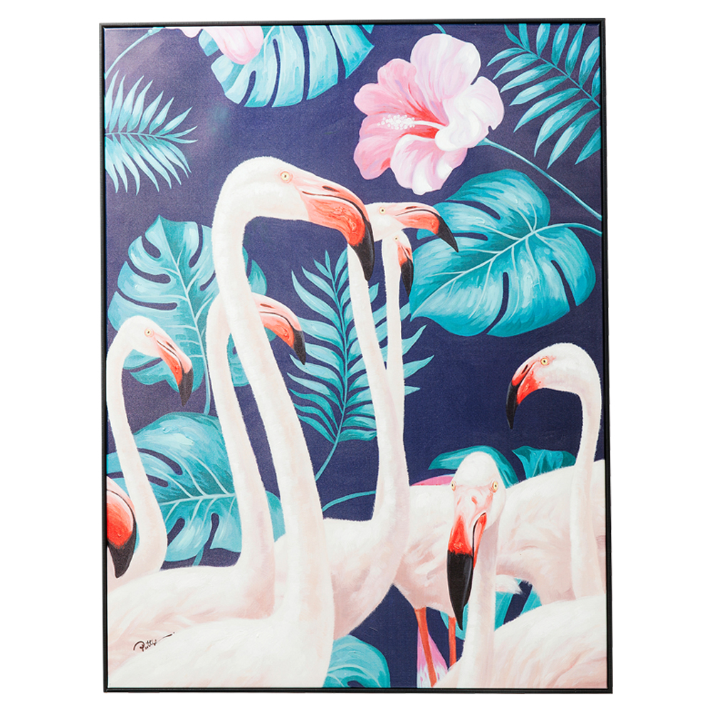 Picture Touched Flamingo Road 122x92cm
