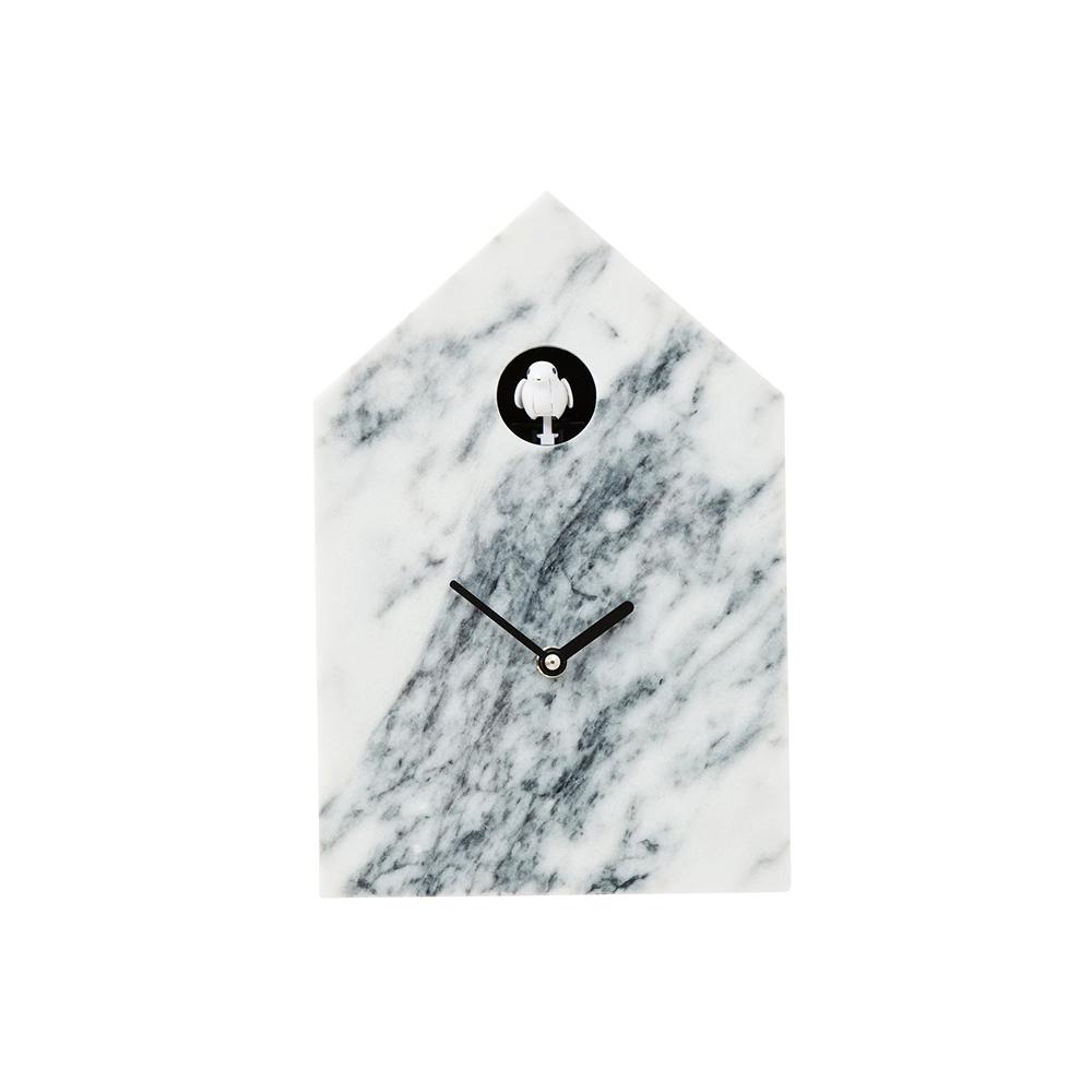 Wall Clock Cuckoo Marble
