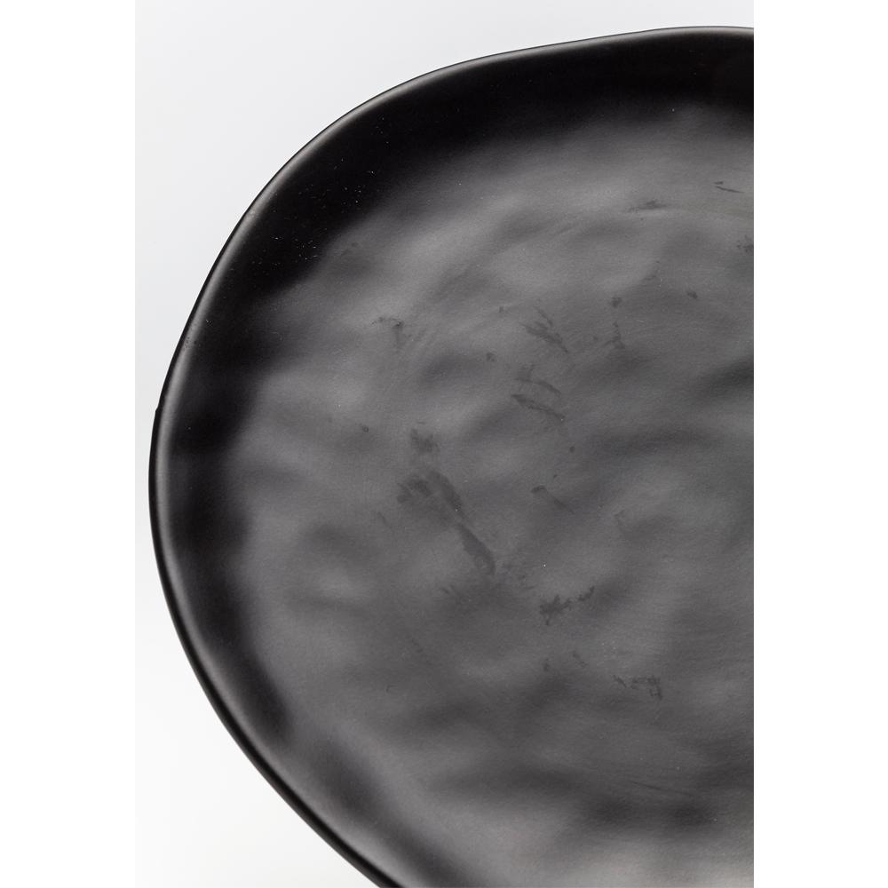 Plate Organic Black Ø26cm
