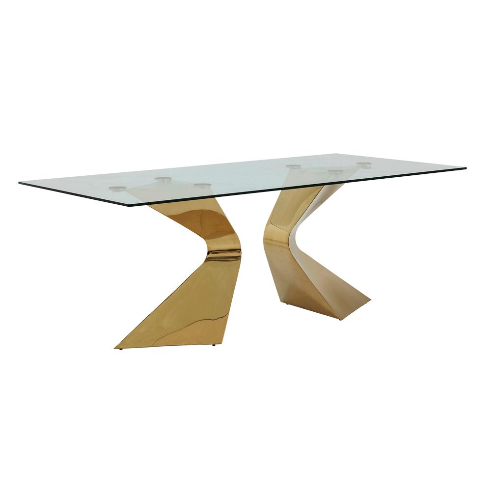 グロリアゴールド 200x100cm ダイニングテーブル