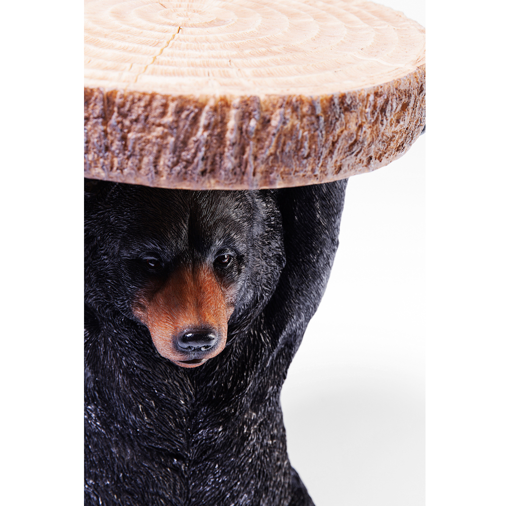 Side Table Animal Mini Bear 25x23cm