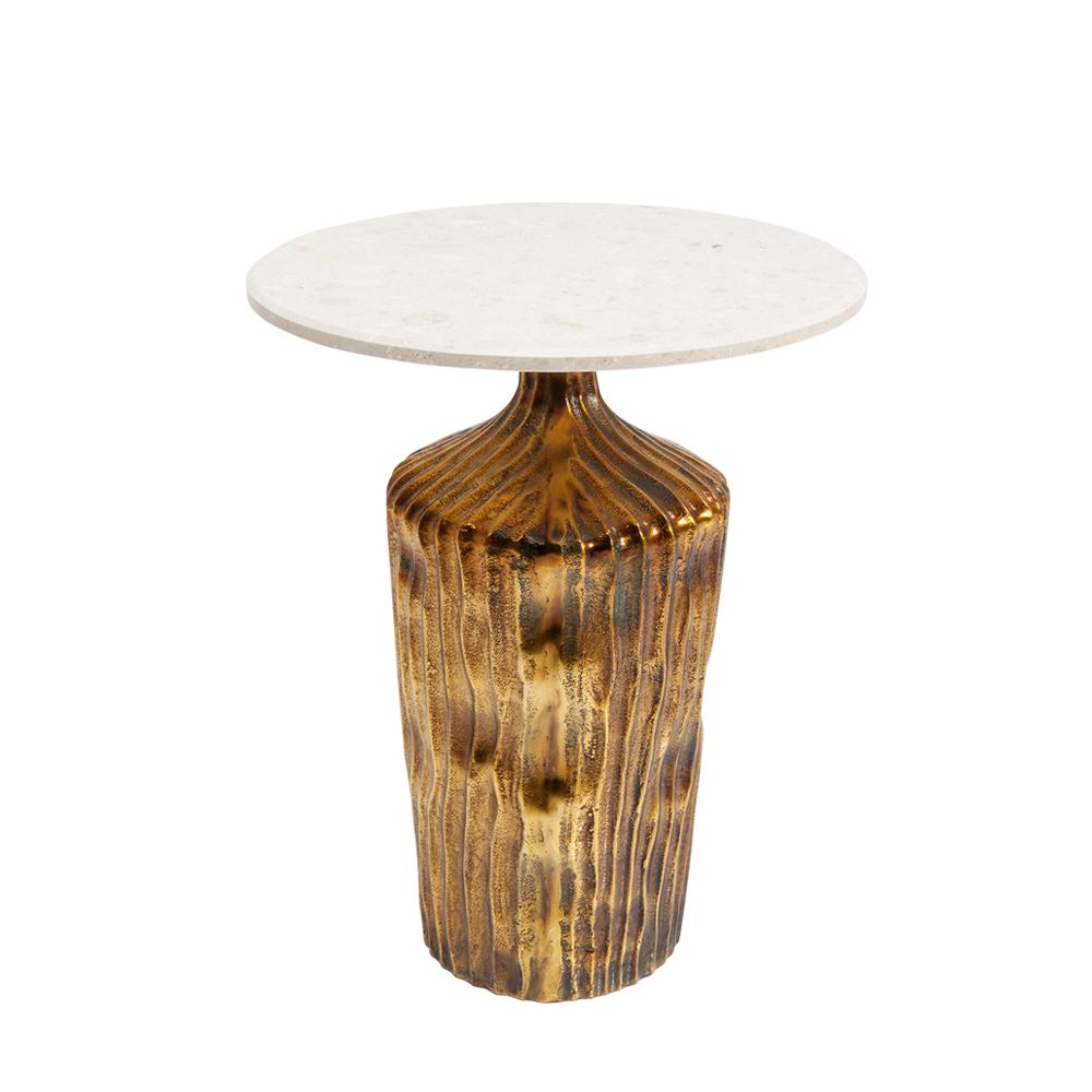 Side Table Firestarter Riffle Ø46cm