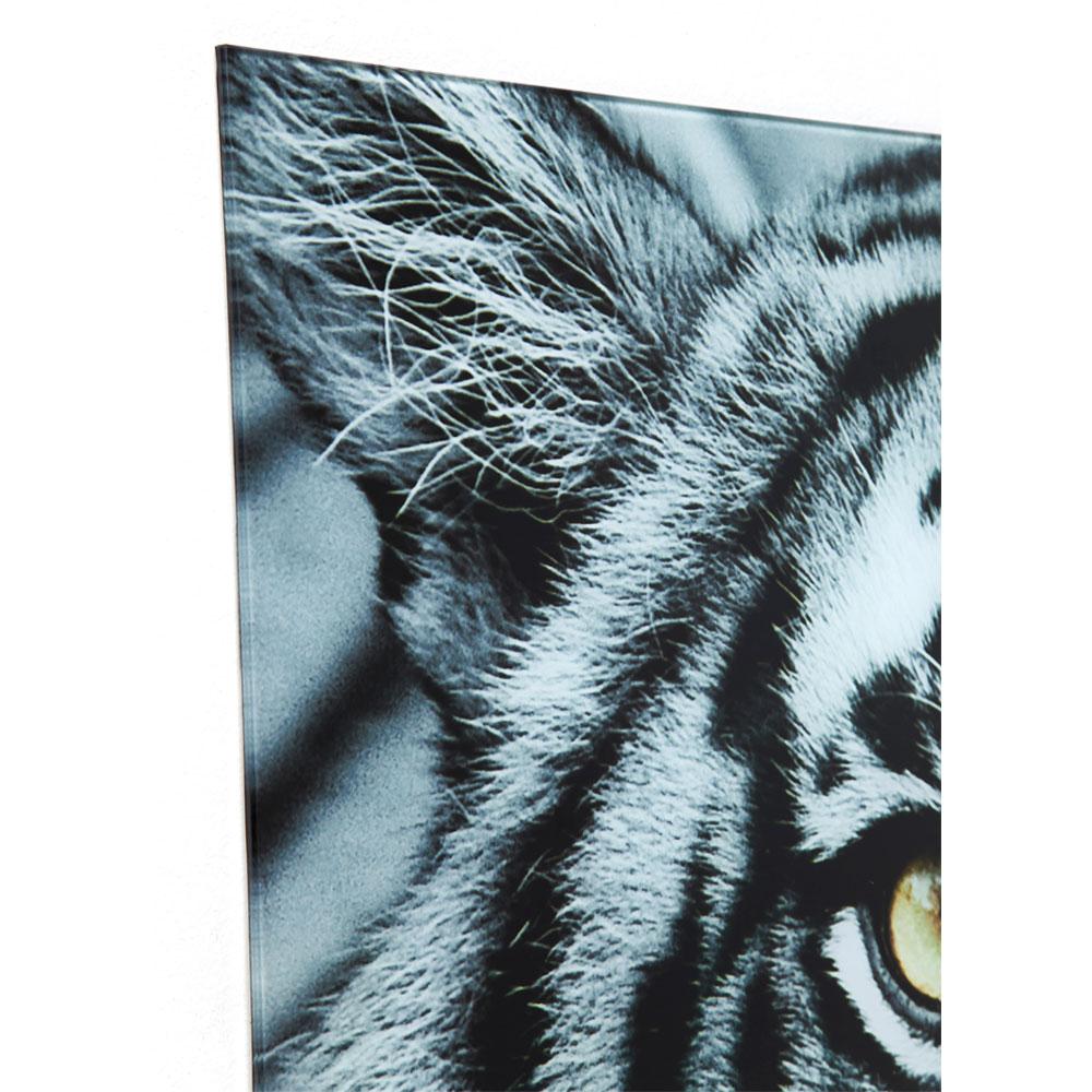 【入荷待ち商品】Picture Glass Face Tiger 80x80cm