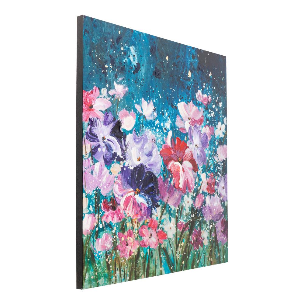 【入荷待ち商品】Oil Painting Flower Garden 100x100cm