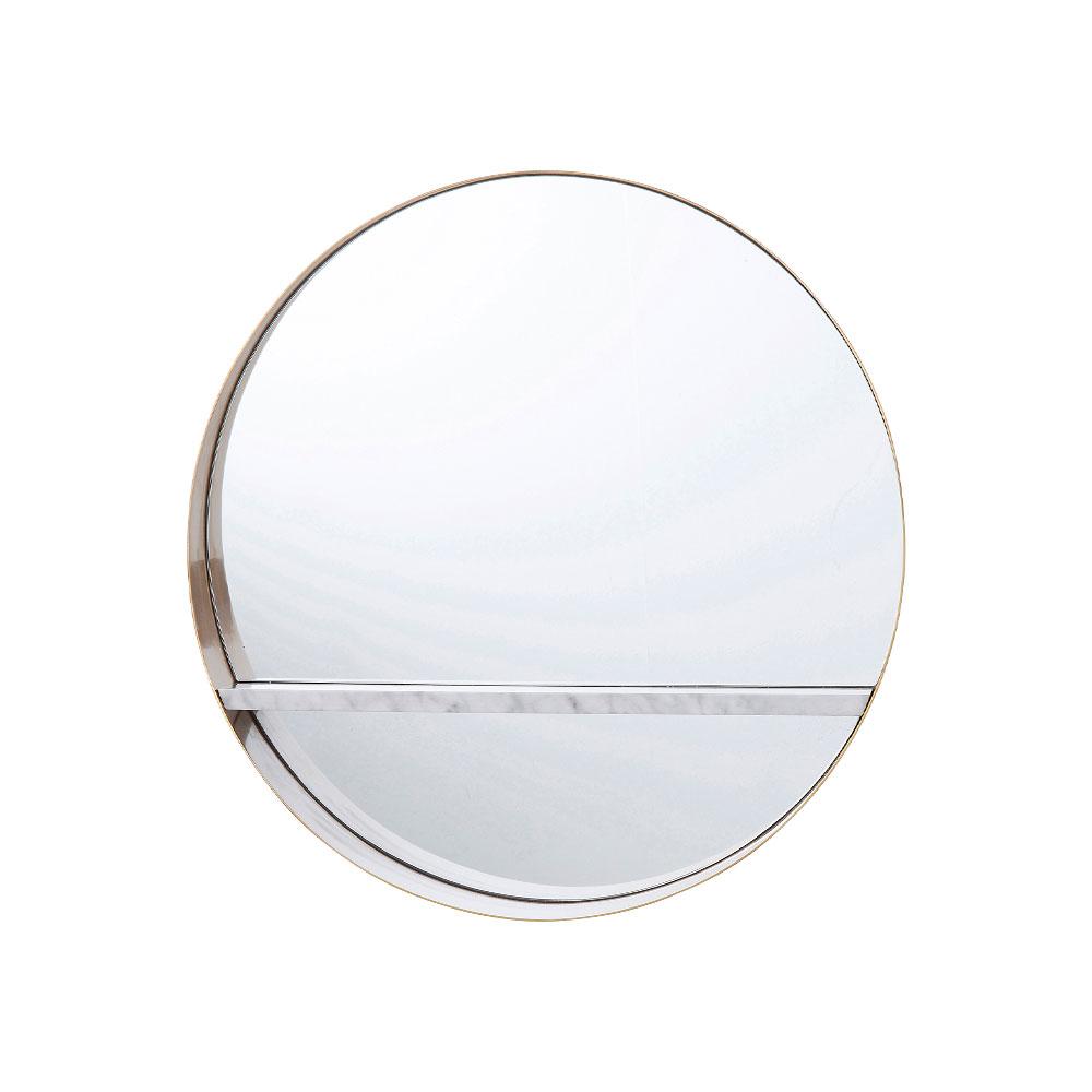 Mirror Hipster Shelf  Ø65cm
