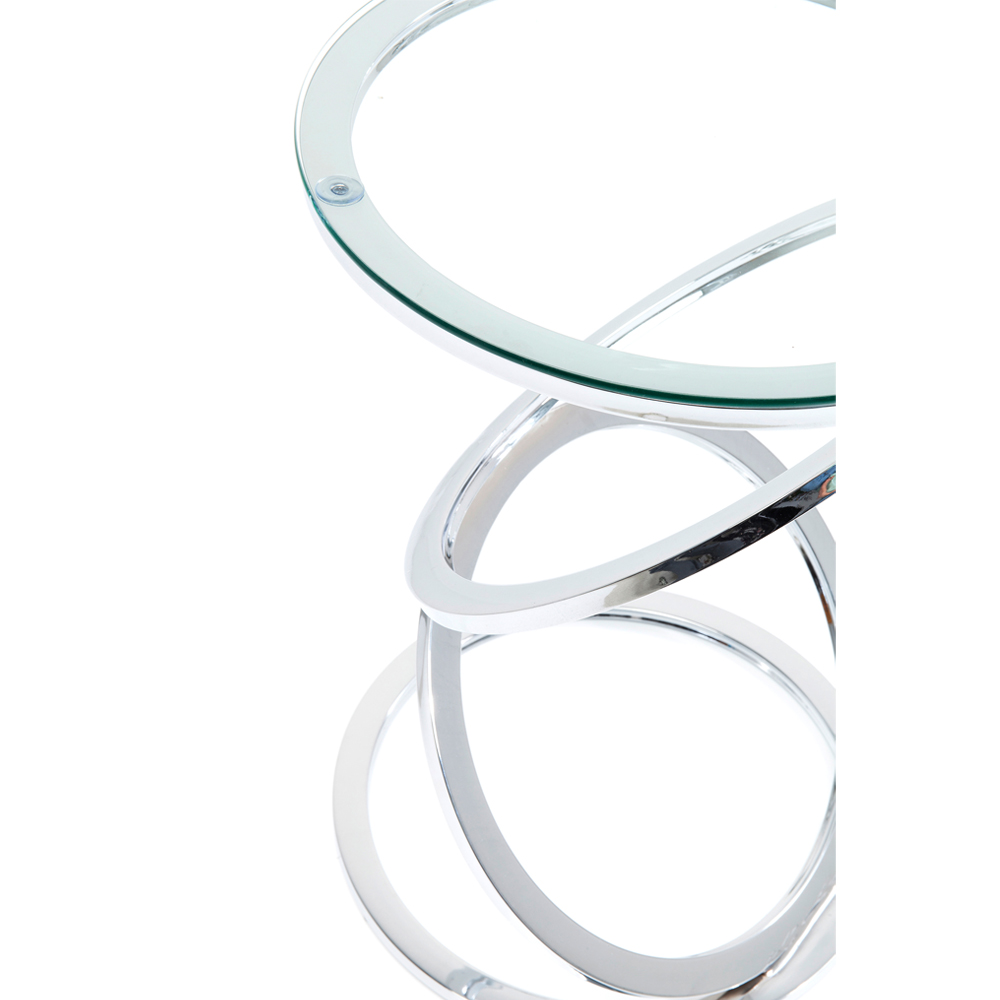 Side Table Miami Rings Ø45cm