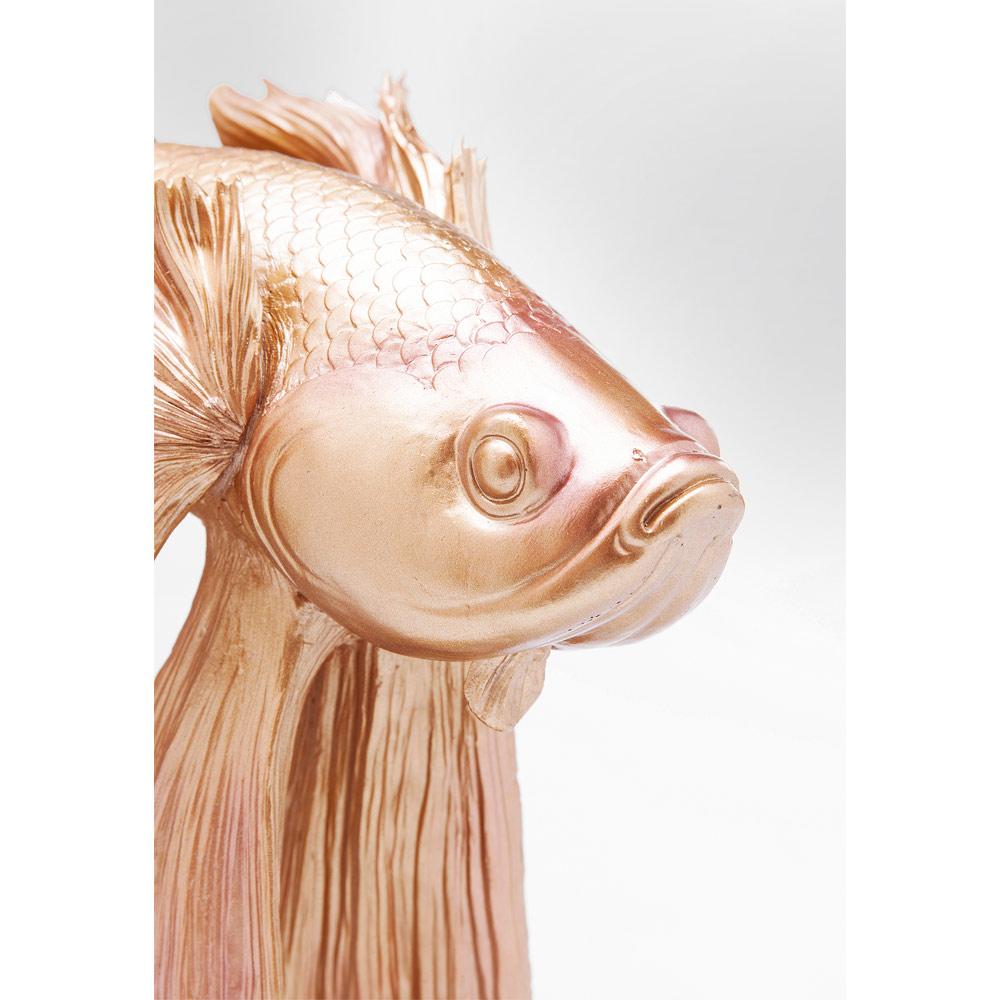 Deco Figurine Betta Fish Gold