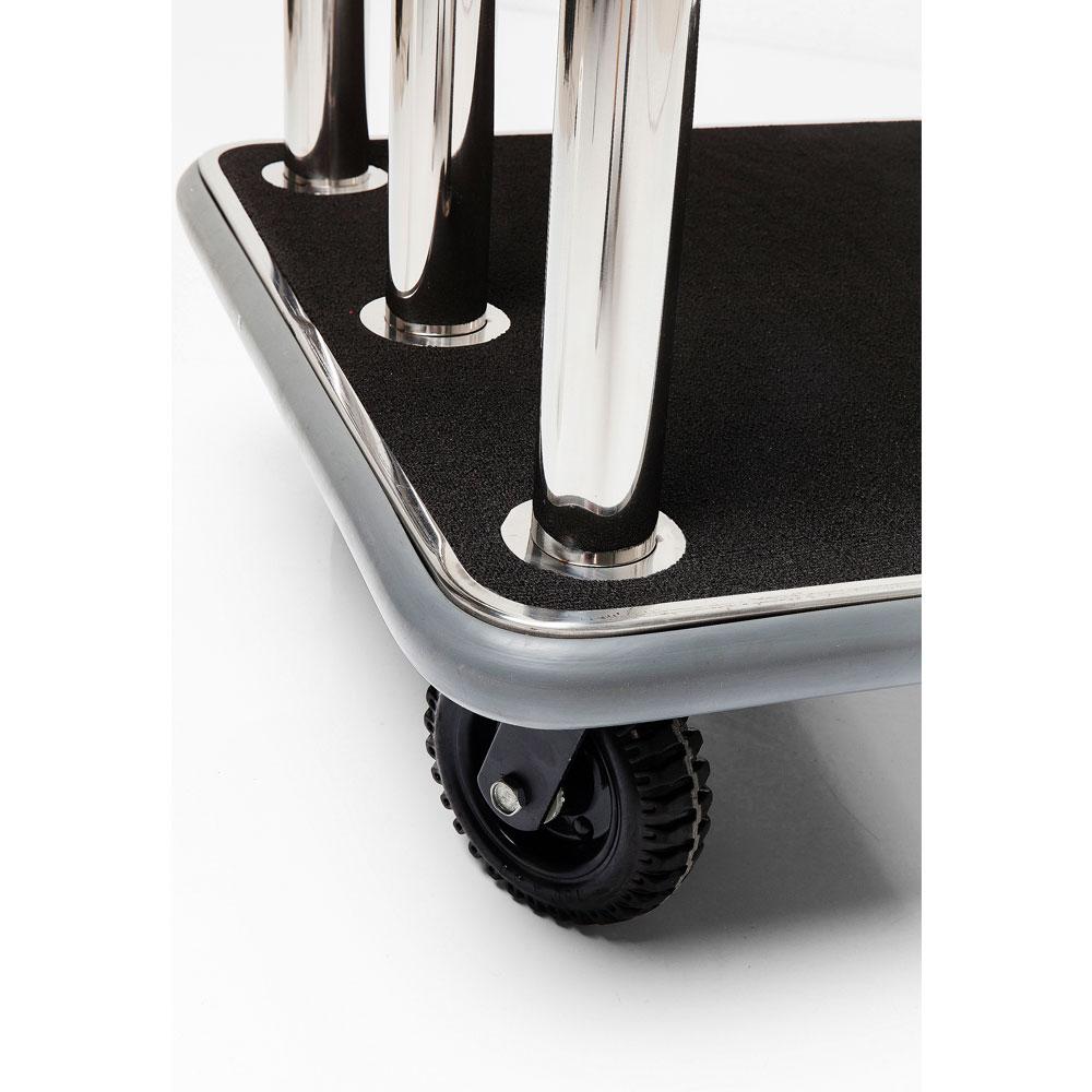VIP Baggage Trolley Vegas Silver