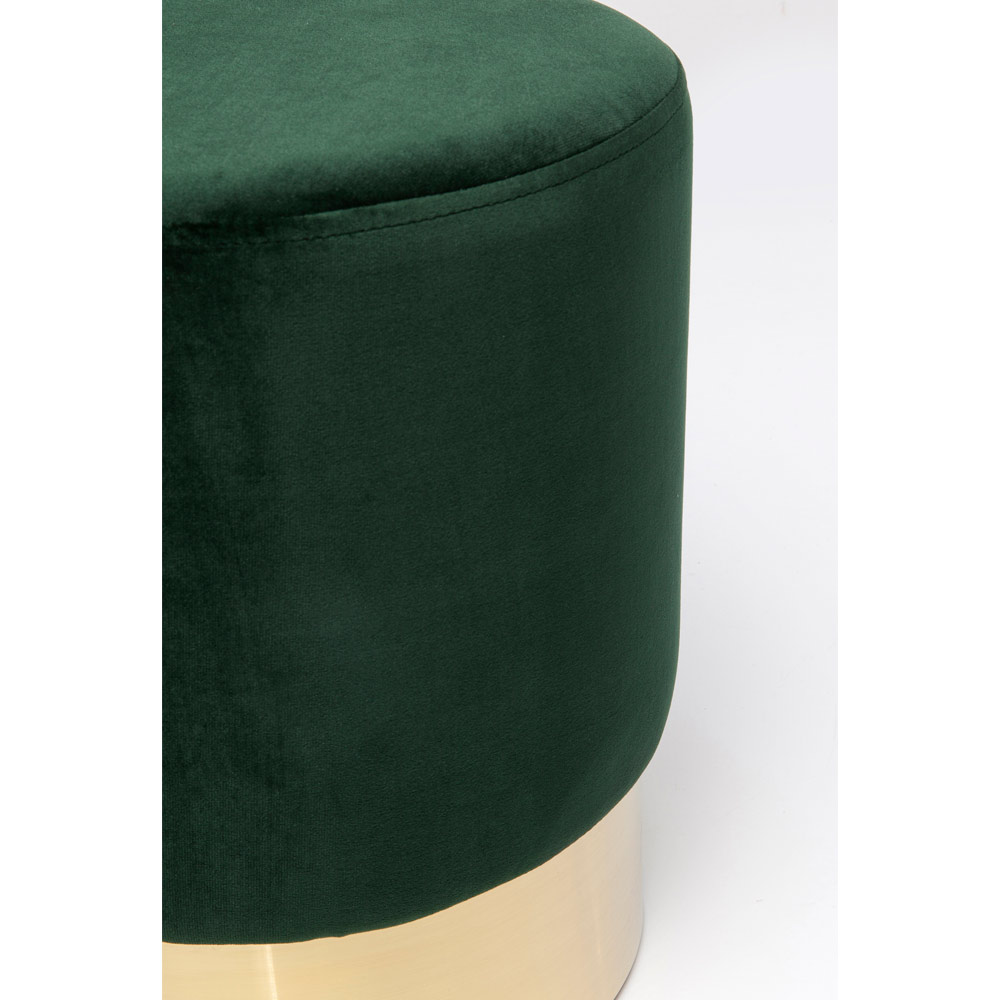 チェリーダークグリーンブラス Ø35cm  スツール