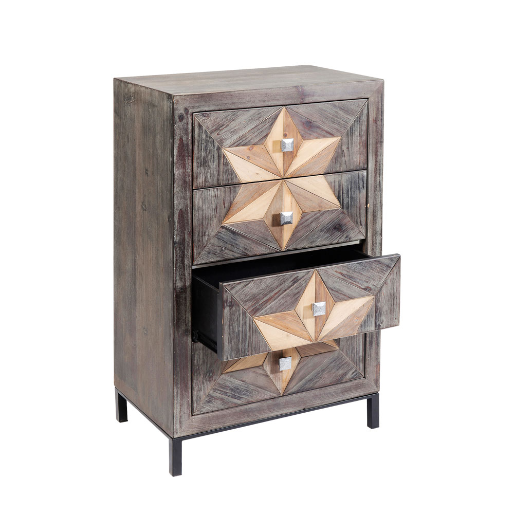 Dresser Starry 4 Drawers