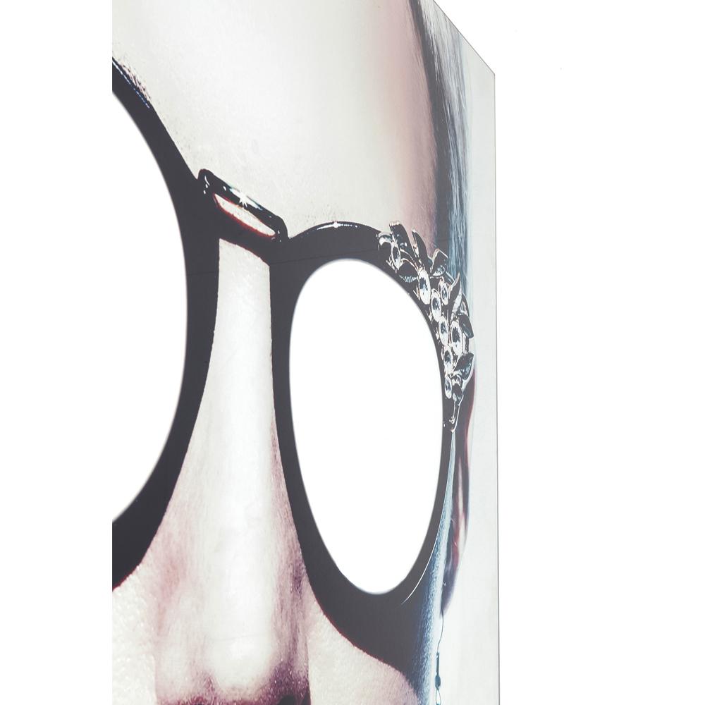 【入荷待ち商品】Picture Glass Metallic Girlie 120x120cm