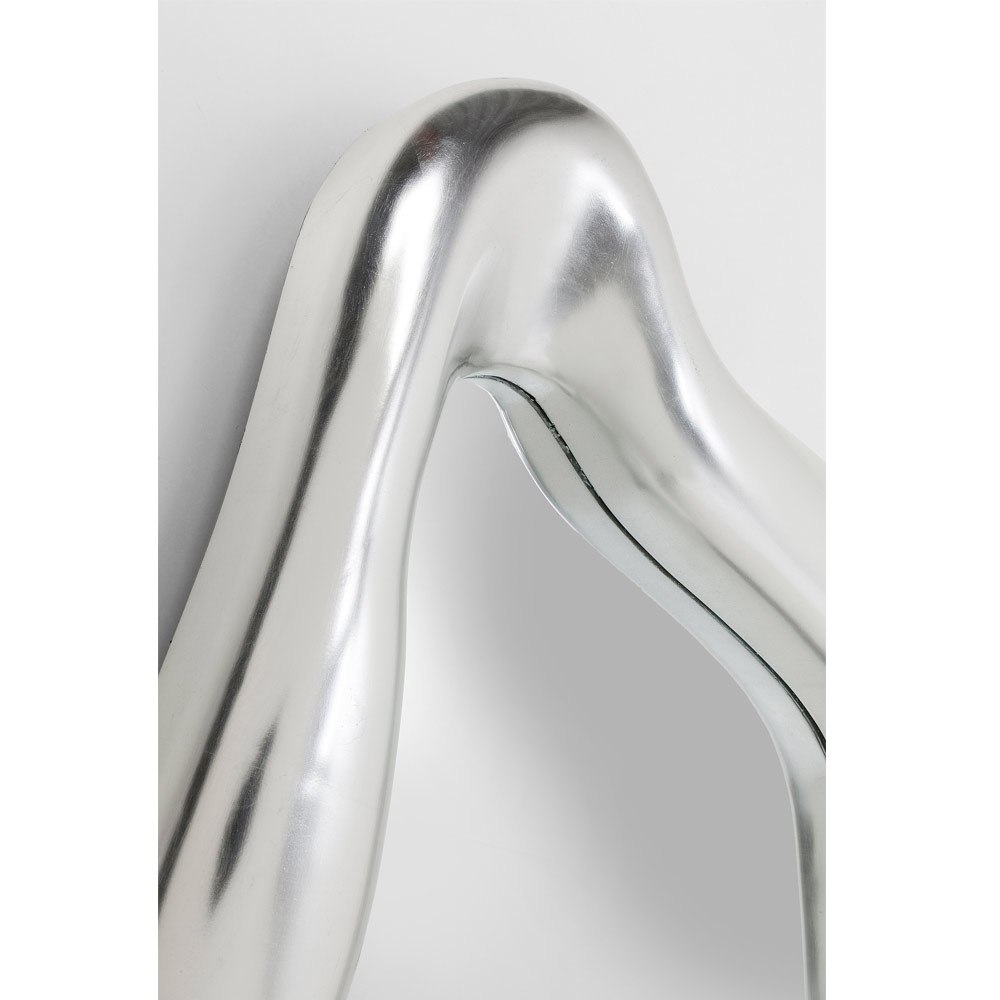 Mirror Hologram Silver 119x76cm