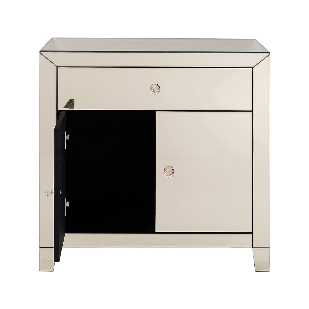 Dresser Luxury Gold 2Doors 1 Drawer
