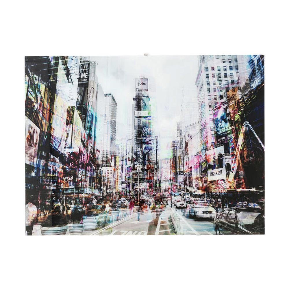 Picture Glass Times Square Move 120x90cm