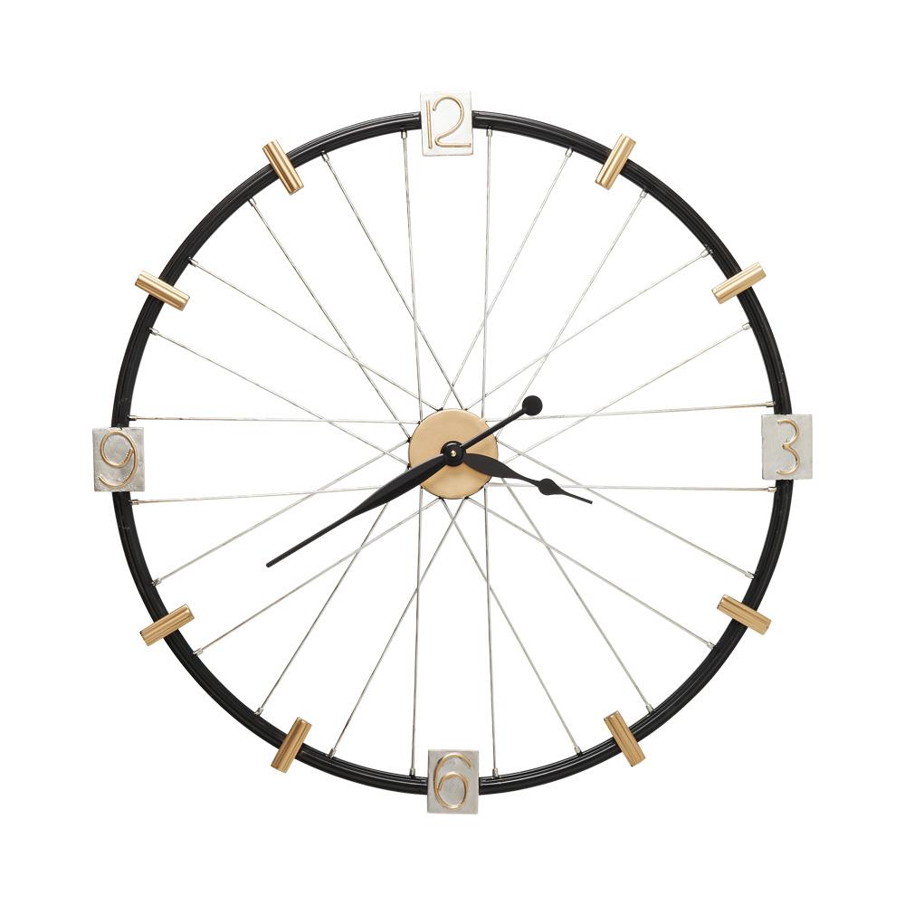 Wall Clock Spoke Wheel 80cm