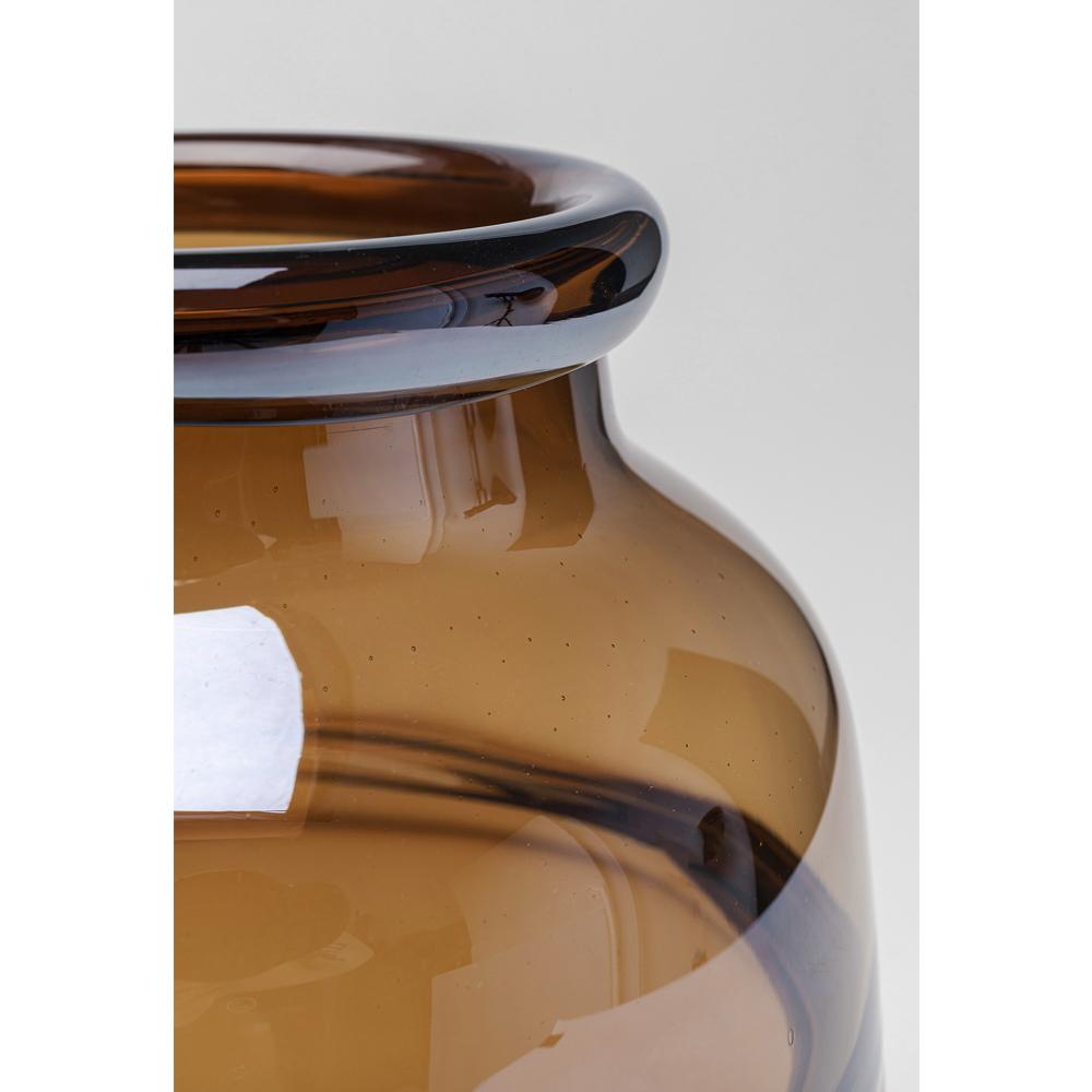 Vase Dallas Rim Brown 24cm