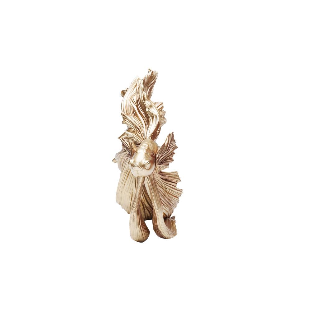 Deco Object Betta Fish Gold Small