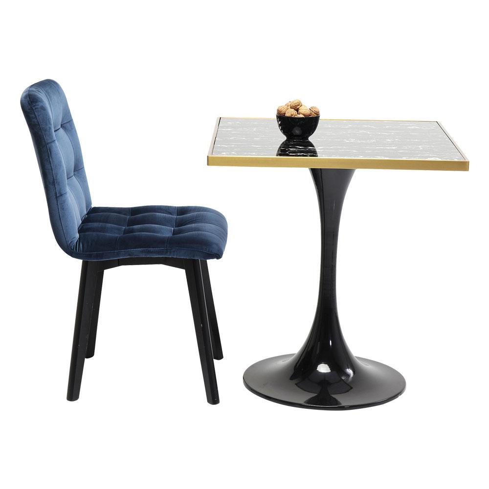 サンレモブラックスクエア 100x70x70cm ダイニングテーブル/バーテーブル