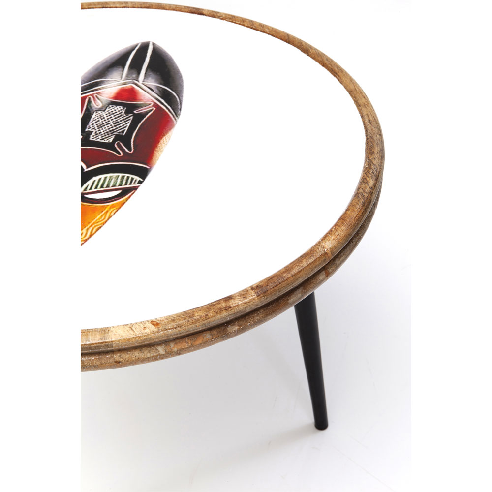 アフリカマスク (3/Set) サイドテーブル