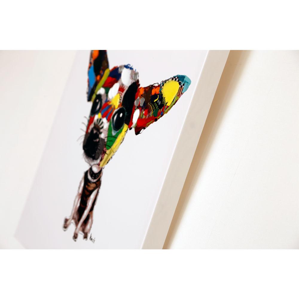 Acrylic Painting Chihuahua 50x50cm
