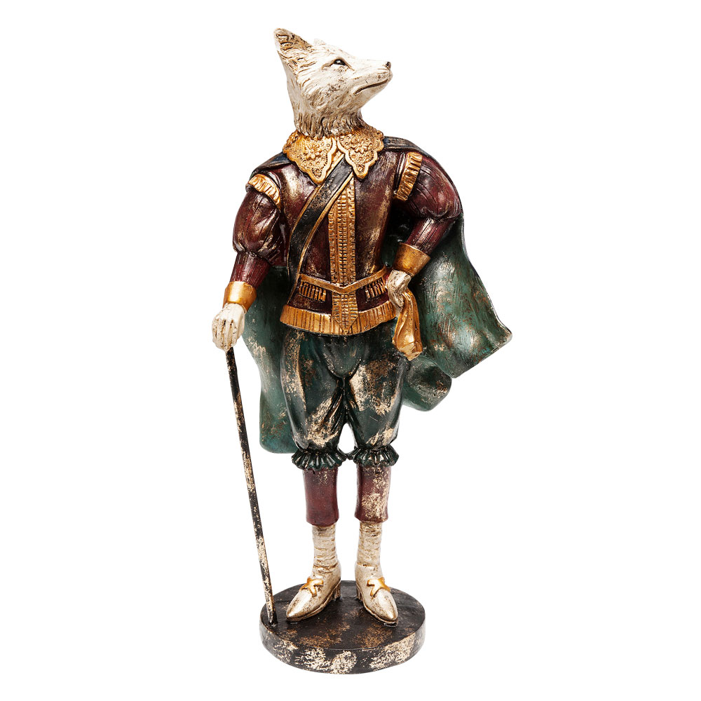 Deco Object Musketeer Fox