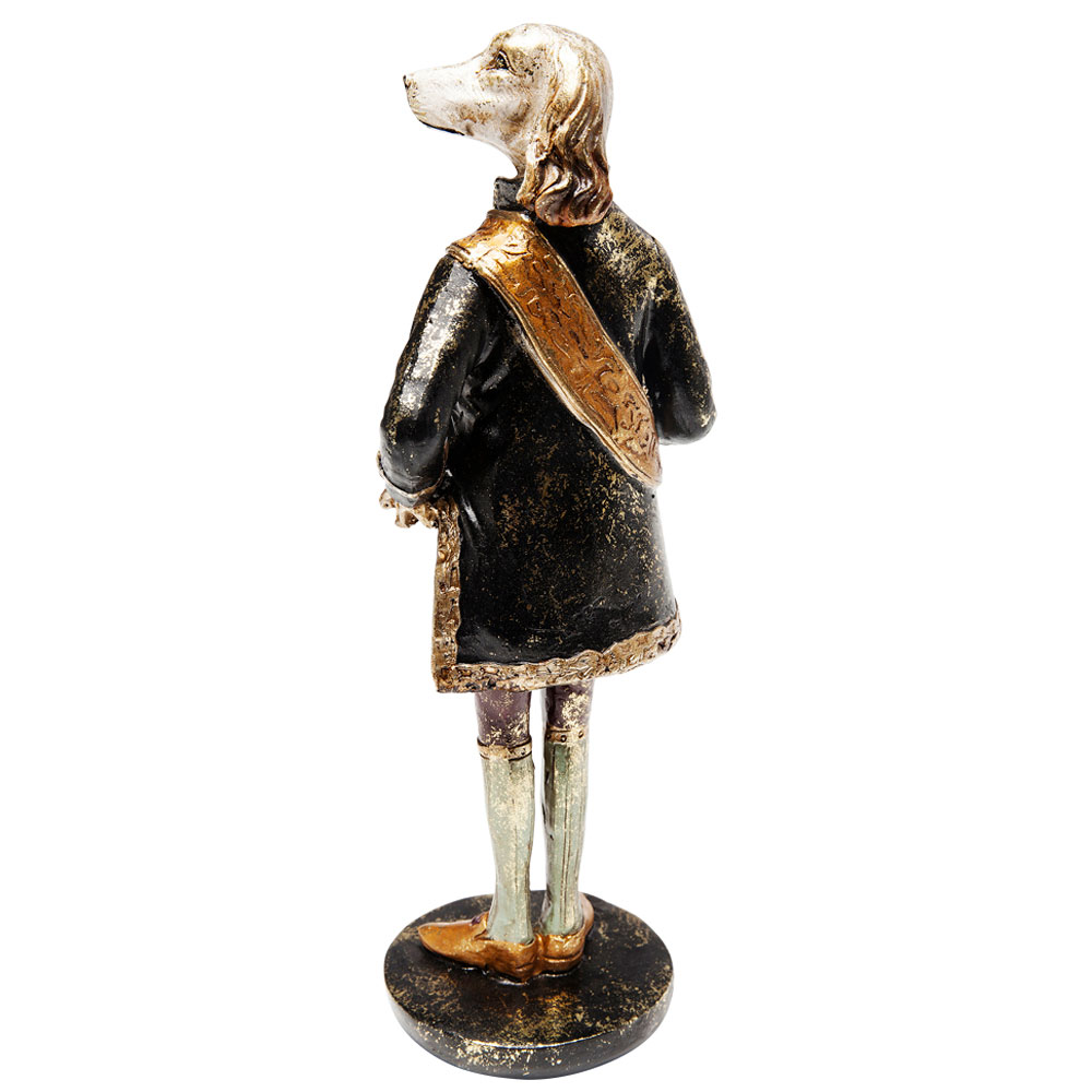Deco Object Courtier Dog