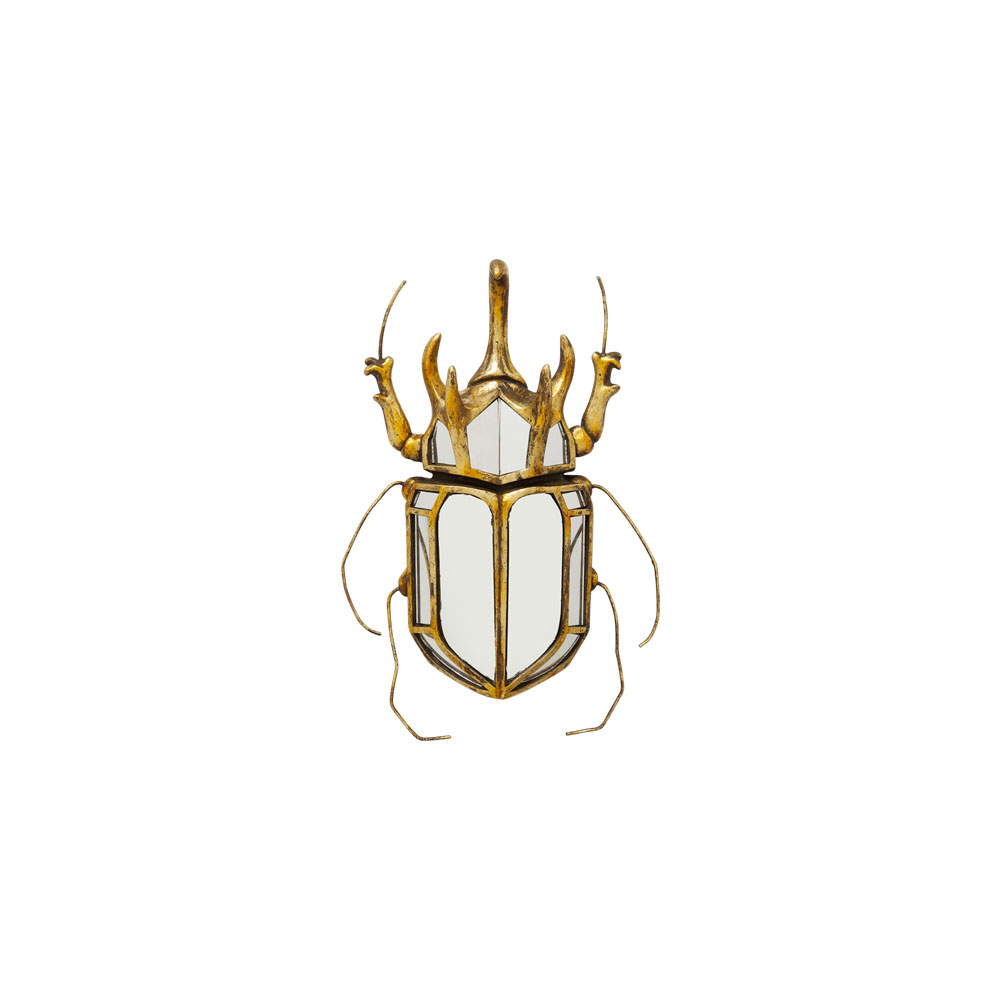 Wall Decoration Beetle Mirror