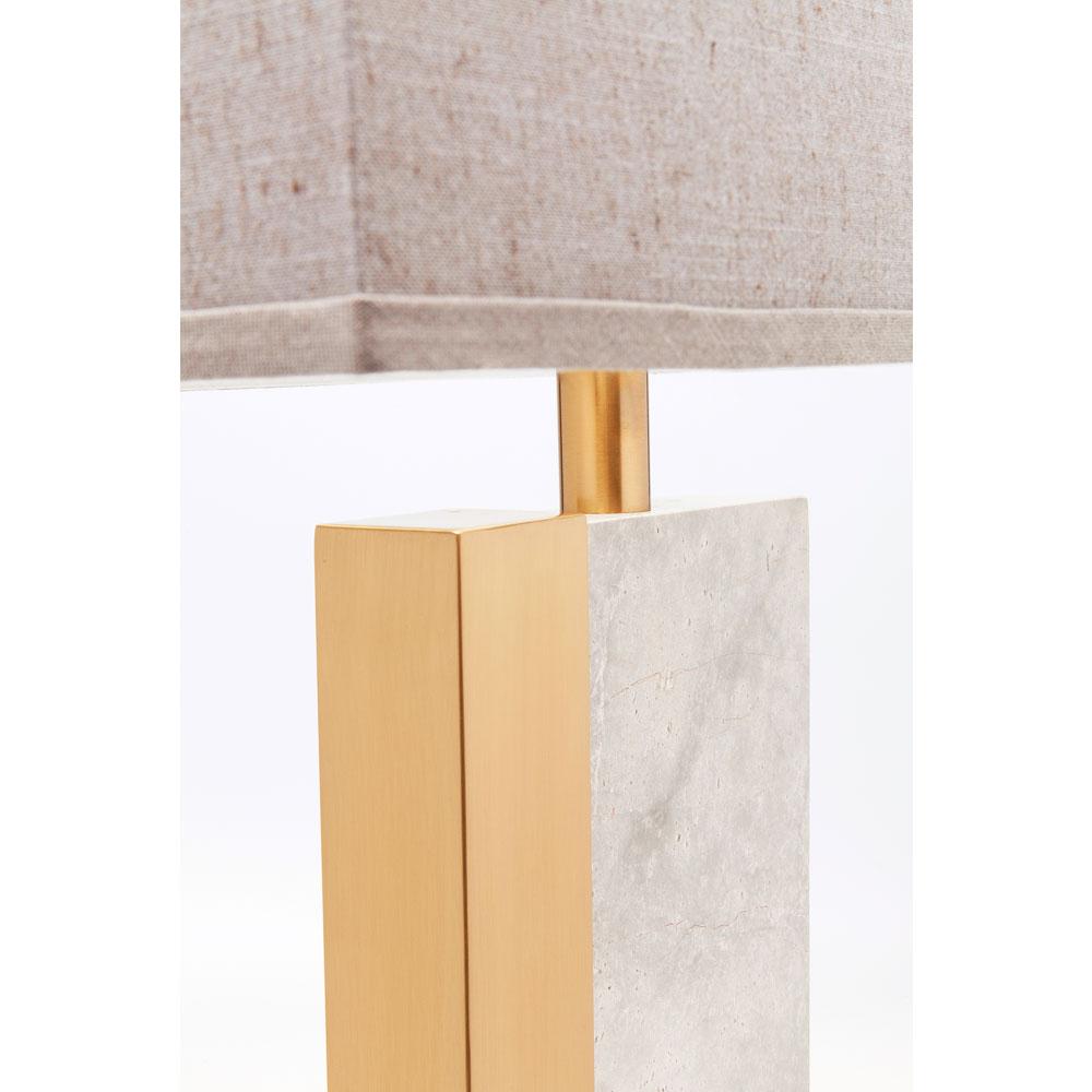 Table Lamp Charleston Marble 80cm