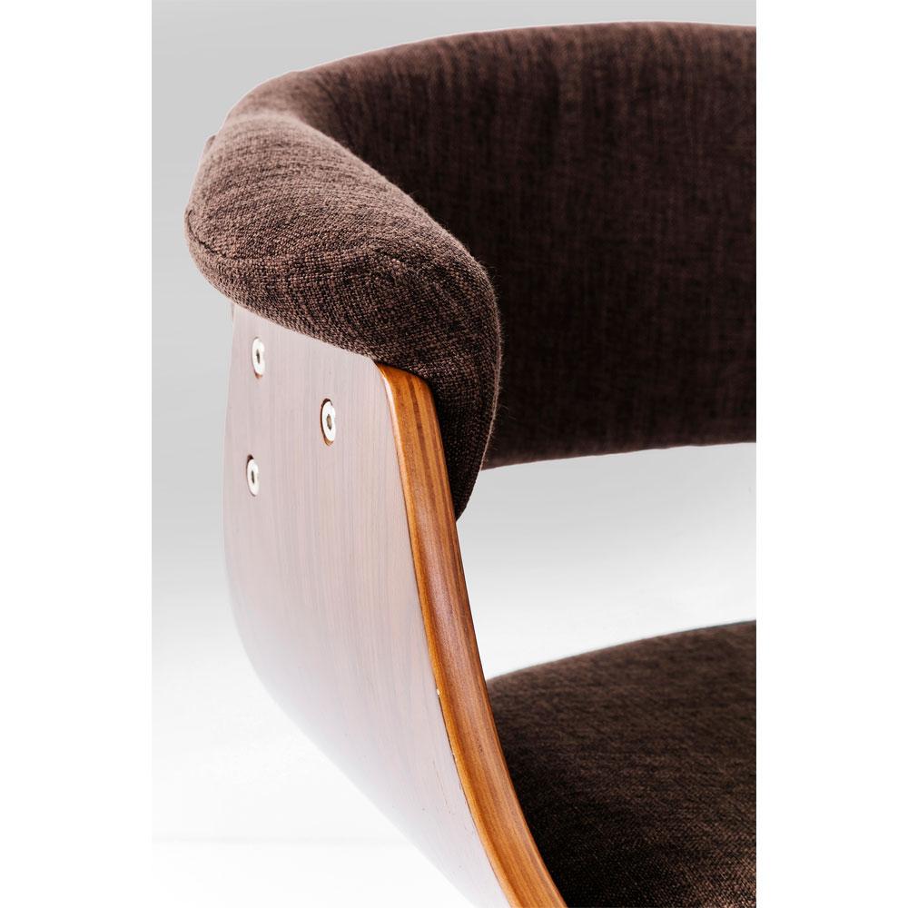 Chair with Armrest Monaco Schoko