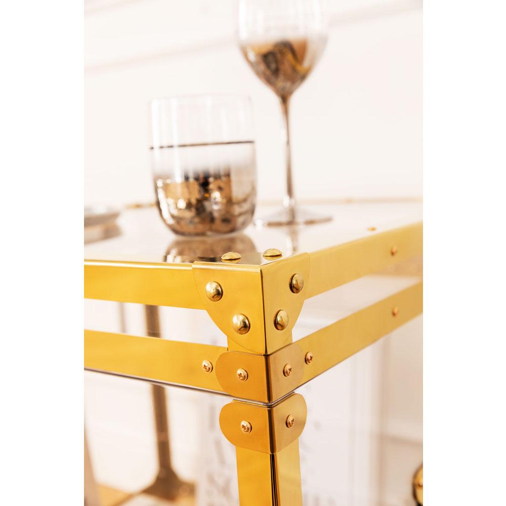 Side Table Trunk Storage Gala