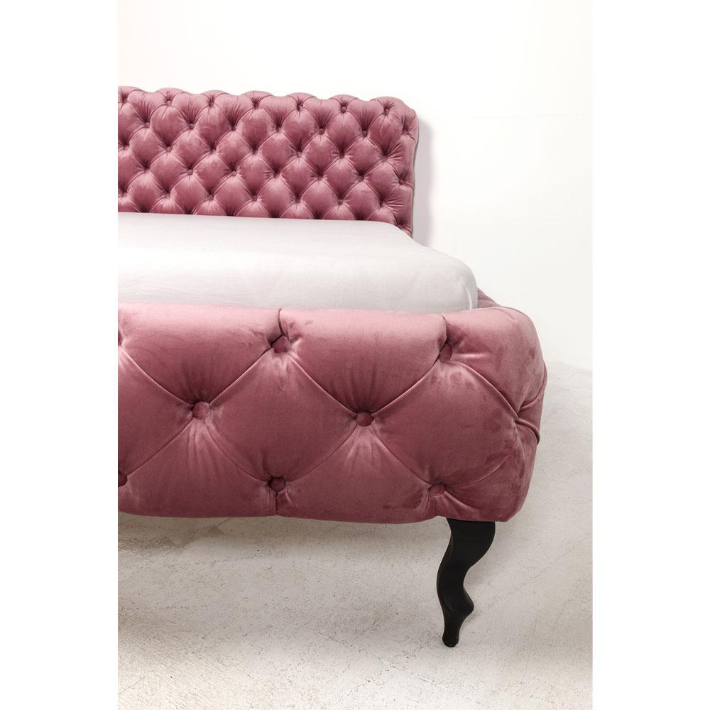 デザイア ベルベットモーヴ ベッド 160x200cm(クイーンサイズ)