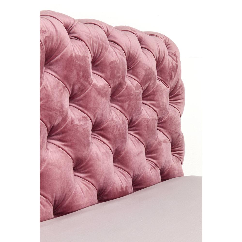 デザイア ベルベットモーヴ ベッド 180x200cm(キングサイズ)