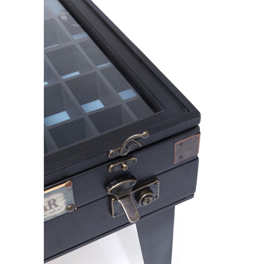 コレクターブラック 55x55cm サイドテーブル